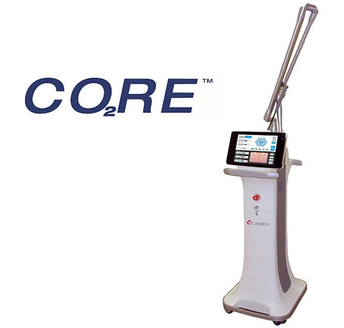 炭酸ガスフラクショナルレーザー(CO2RE)